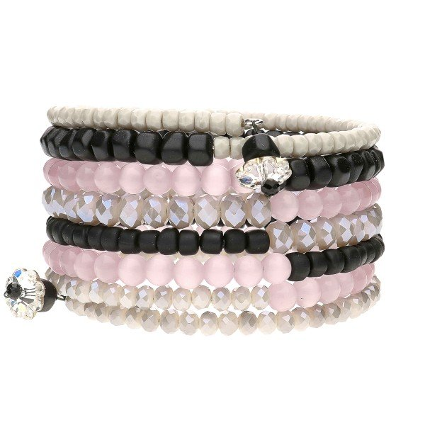 "Armband ""Rosa"" - schwarz"