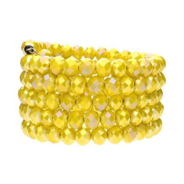 "Armband ""Lulu"" - gelb"